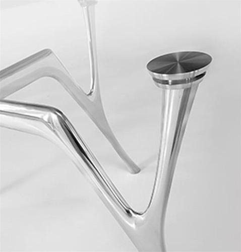 Gambe In Alluminio Per Tavoli.Ci S Pegaso Struttura In 3 Misure Realizzata In Fusione Di