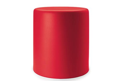 Pe wow pouf sgabello in polietilene disponibile in