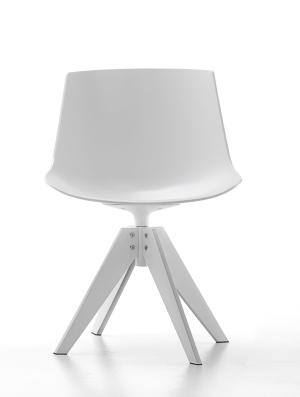 Mdf052114 flow chair 4 gambe vn acciaio mdf italia spa for Mdf italia spa
