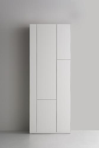 MDF-F012103-0001 - RANDOM CABINET - libreria laccata bianca ...