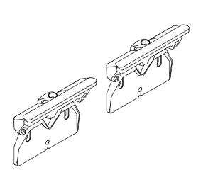 Ci 7s370 bo coppia attacchi snowfix da utilizzare con for Camino con finestre su ogni lato